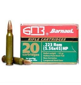 Barnaul Barnaul 223 Rem 62gr HP (22362HP)