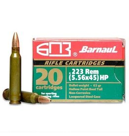 Barnaul Barnaul 223 Rem 62gr HP case - 500 rds (22362)