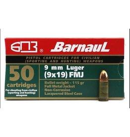 Barnaul Barnaul 9mm 115 gr FMJ Case - 1000rds (2317563)