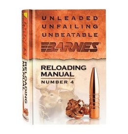 Barnes Barnes Reloading Manual Number 4 30745