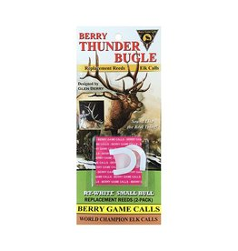 Berry Game Calls Berry Calls - Thunder Bugle White Reed (RT-W, 0115RW)