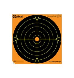"Caldwell Caldwell Orange Peel 12"" Bullseye 10 sheets"