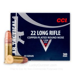 CCI CCI 22 LR 40gr CPRN Tactical 300rd box (956)