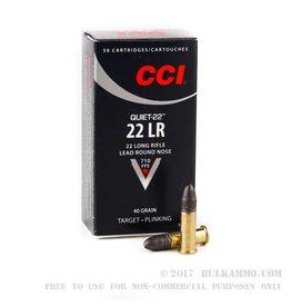 CCI CCI 22 LR 40gr LRN Quiet 50rd box (960)