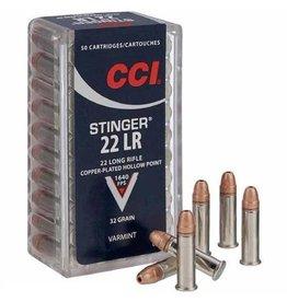 CCI CCI 22 LR Stinger 32gr 50rd box (0050)