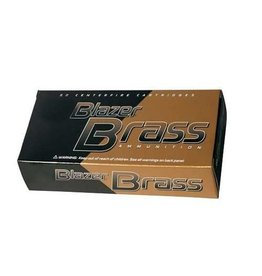 Blazer CCI Blazer Brass 9mm 124gr FMJ 50rd box ( 5201)