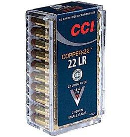 CCI CCI Copper 22LR 21gr 50rd box (925CC)