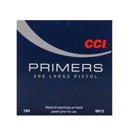 CCI CCI No 300 Large Pistol Primers/Box 100ct (0012)