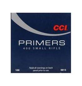 CCI CCI No 400 Small Rifle Primers/Box 100ct (0013)
