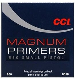 CCI CCI No 550 Sm Mag Pistol Primers/Box 100ct (0018)