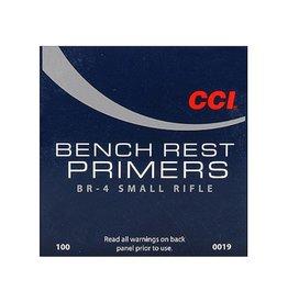 CCI CCI No BR-4 Small Rifle Bench Rest Primers/Box 100ct (0019)