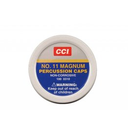 CCI CCI No. 11 Magnum Percussion Caps 100ct (310)
