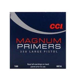 CCI CCI No. 350 Large Mag Pistol Primers/Box 100ct
