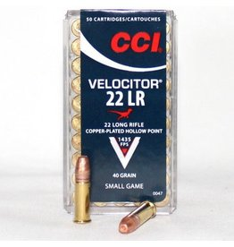 CCI CCI Velocitor 22LR 40gr 1435 Fps.  (0047)