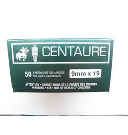 Centaure Centaure 9mm 124gr FMJ 50rd box (#9EC124)