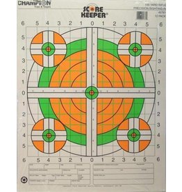 Champion Champion 100yd Sight-In Rifle Flourescent Target