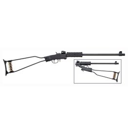 "Chiappa Chiappa 17 HMR Little Badger wire steel synthetic stock 16.5"" blued barrel (500.145)"