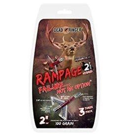 Dead Ringer Dead Ringer Rampage 2 Blade 100GR Broadhead