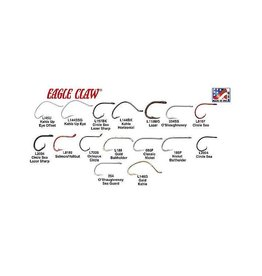 Eagle Claw Eagle Claw Khale Hooks Size 1 (L141G-1)