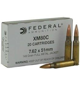 Federal Federal 7.62x51(308) 149gr FMJ 500rds (XM80CS)