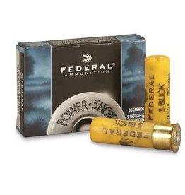 """Federal Federal 20GA 2.75"""" #3 buckshot 5rd box (F2033B)"""