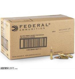 Federal Federal 223 Rem 55gr FMJ 1000rd (AE223BK)