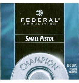 Federal Federal No 100 Small Pistol Primers/Box 100ct
