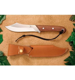 Grohmann Knives Grohmann Deer & Moose w/Rosewood Handle & Leather Sheath (R108S)