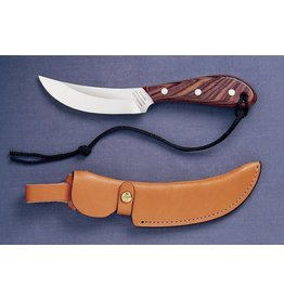 Grohmann Knives Grohmann Standard Skinner w/Rosewood Handle & Leather Sheath (R101S)