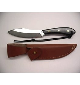 Grohmann Knives Grohmann Survival/Micarta Black Handle & Leather Sheath (M4S)