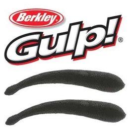"Berkley Berkley Gulp 5"" Jumbo Leech Black"