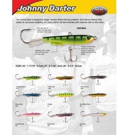 """Johnson Johnny Darter #5 1 11/16"""" Pink Tiger (JYD5-PGT)"""