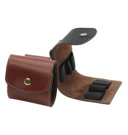 Levy Levy Leather Shot Shell Pouch