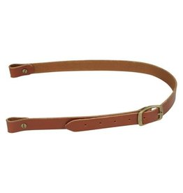 Levy Levy's Leather 1' with buckle, walnut