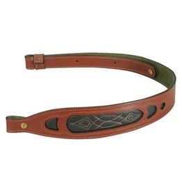 Levy Levy's Leather Cobra w/insert blk inlay walnut
