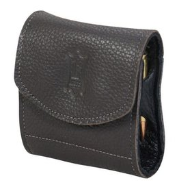 Levy Levy's Leather rifle cartridge pouch DARK BROWN