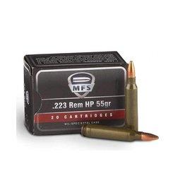 MFS MFS 223 Rem 55gr HP 500rd case (2312822)
