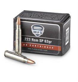 MFS MFS 223 Rem 62gr SP case - 500rds (2317566)