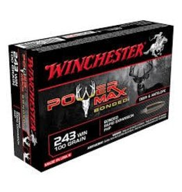Winchester Winchester 243 Win 100gr Power Max Bonded (X2432BP)