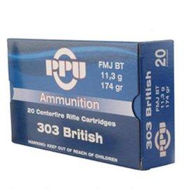 PPU PPU 303 British 174gr FMJ