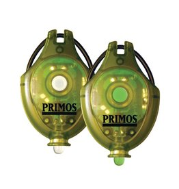 Primos Primos LED Cap Lights set 2, green, white light