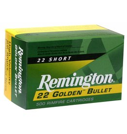 Remington Remington 22 Short Golden Bullet 500rd (21000)