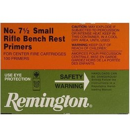 Remington Remington No.7-1/2 Sm Rifle Bench Rest Primers/Brick 1000ct (22628)