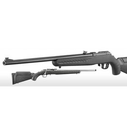 "Ruger Ruger American 22 LR Blk stock Composite w/ front fiber optic Sights 22"" blued Barrel (08301)"