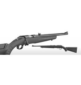 "Ruger Ruger American 22 LR Compact blk syn stock 18"" blued barrel w/ fiber optic front sight (08303)"