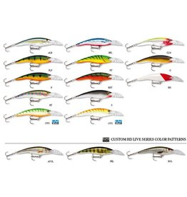 Rapala Scatter Rap Tail Dancer 9 Perch P