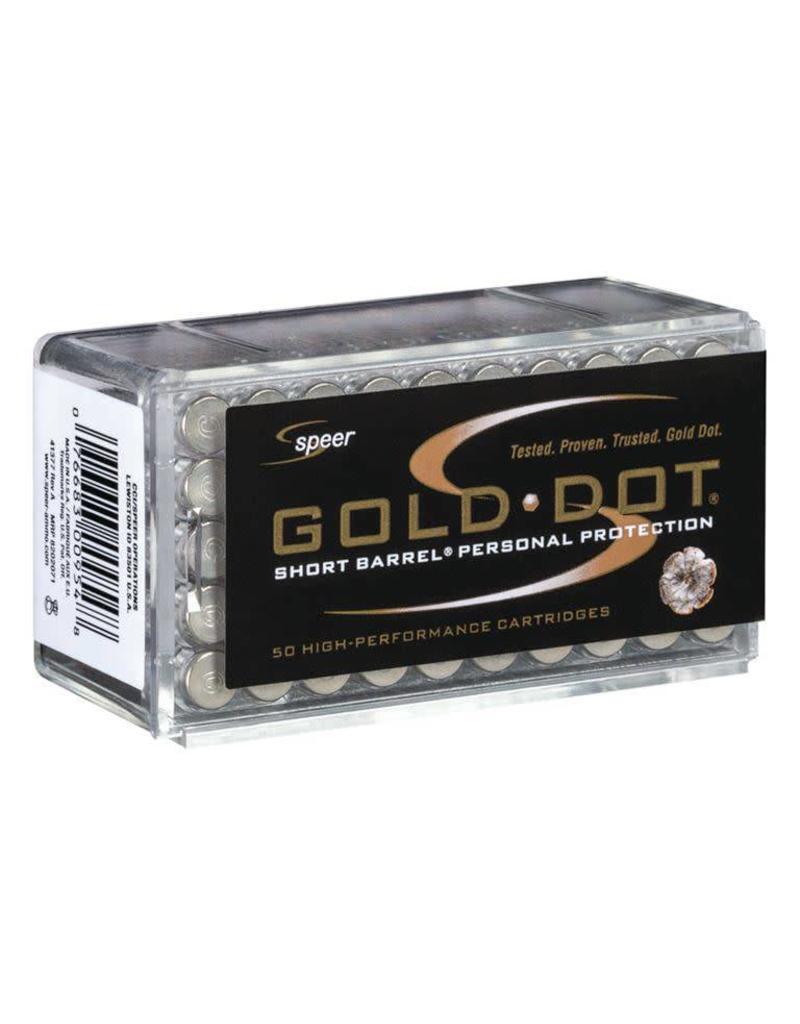 CCI Speer Gold Dot Short Barrel 22 WMR 40gr GDHP 50rd box (0954)