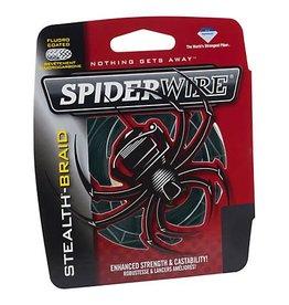 Spider Wire Spider Wire Stealth Braid 10lb Moss Green