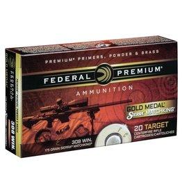 Federal Federal Premium 223 Rem 69gr Sierra Matchking BTHP (GM223M)