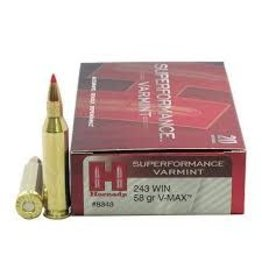 Hornady Hornady Superformance 243 Win 58Gr V-MAX Varmint (8343)